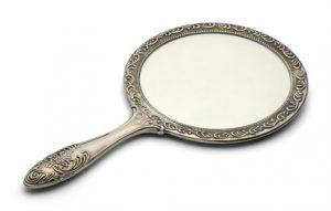Bathroom Hand Mirror