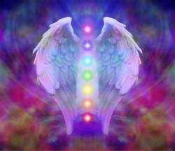 Reiki Angel Wings and Seven Chakras